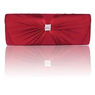 Handbag Silk Evening Handbags/Clutches/Wallets & Accessories With Bowknot