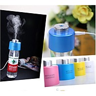 USB Portable ABS Water Bottle Cap Mini Humidifier DC 5V Office Aroma Diffuser Aroma 2pcs Absorbent Filter Sticks