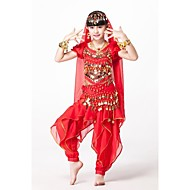 Belly Dance Belly Dance Outfits Children's Performance Chiffon