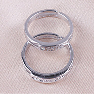 Couples' Silver Ring Non Stone Silver