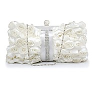 Handbag Silk Evening Handbags/Clutches/Wallets & Accessories With Crystal/ Rhinestone/Lace