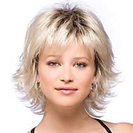 capelli corti parrucche donne bianche europeo donne nere sintetiche parrucche brevi parrucche