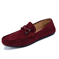 Men's Shoes Outdoor/Casual Loafers Black/Blue/Red/Gray