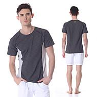 yokaland t-shirt elástico de fitness conforto secagem rápida homens prémio