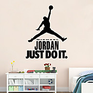 adesivos de parede estilo decalques de parede Jordan Recados pvc adesivos