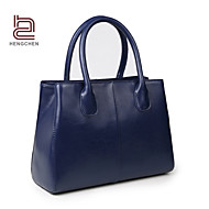 Handcee® Best Seller Simple Style Real Cowhide Woman Leather Handbag