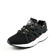 Running Men's Shoes Fabric/Tulle Black