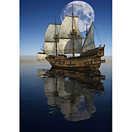 Prints Poster Sailing Art Picture Pictures Print On Canvas  1pcs/set (Without Frame)