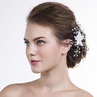 Dame Organza Medaljon-Bryllup / Speciel Lejlighed Blomster 1 Stykke Klar Rund