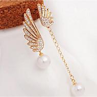 Earring Drop Earrings Jewelry Women Party / Daily Alloy / Imitation Pearl / Rhinestone 1 pair Gold