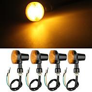motorrad amber Blinkerlampe Anzeige 12v (4 Stück)