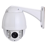 PTZ Outdoor IP Speed Dome Camera 1.3 MP IR-cut Night Vision (1/3 Inch Color CMOS Sensor)