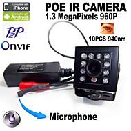 мини - день Ночь/Обнаружение движения/PoE/Dual Stream/удаленный доступ/ИК подсветка/Автоматическое конфигурирование - Крытый