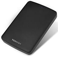 original Toshiba sort bille USB3.0 1TB 2,5-tommers bærbar ekstern harddisk med kryptering
