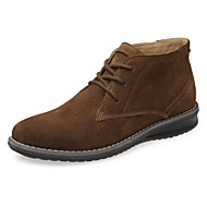 Men's Fall Bootie Suede Casual Blue / Brown / Gray