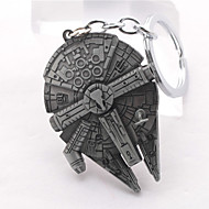 Unisex Young Fashion Jewelry Alloy Cosplay Star Wars Pendant Key Chain Key Rings Key Buckle