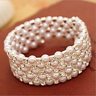 Damen Armbänder Strand Künstliche Perle Imitierte Perlen/Strass