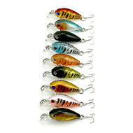 9pcs Hengjia Crank Baits 4g  45mm Sea Fishing/Freshwater Fishing/Bass Fishing lures