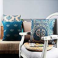 conjunto de 4 elegantes vida capas de almofadas decorativas de Vossa Alteza