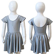 Nylon/Lycra Cap Sleeve Leotard with Removable Skirts More Colors for Girls and Ladies