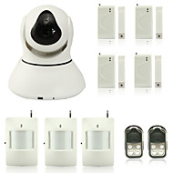 Dag Nacht/Bewegingsdetectie/Remote Access/IR-cut/Wifi Protected Setup/Plug and play - Binnen PTZ - IP Camera