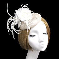 2015Women's Feather/Rhinestone Headpiece - Wedding/Special Occasion Fascinators 1 PieceHA5089