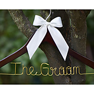 Personalized Wedding Dress Hanger, Bridesmaid or Groomsman Hanger