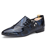Men's Shoes Office & Career/Party & Evening/Casual Oxfords Black/Blue/Brown/Purple/White