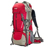 50 L Tourenrucksäcke/Rucksack Camping & Wandern / Klettern Outdoor / Training Wasserdicht / Regendicht / tragbar / MultifunktionsRot /