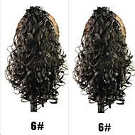 senhoras da forma de comércio garra grampo de cabelo de rabo de cavalo # 6 cor da UE