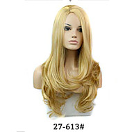The European and American Fashion Curly Hair Wig Caps Imported High Temperature Wire. 27-613 # Color