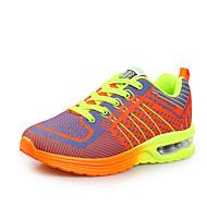 Running Unisex Shoes Fabric/Tulle Blue/Gray/Orange