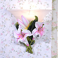 Hoshine® Lily Wall Sconces Modern/Contemporary Style Wall Light Resin Bulb Included
