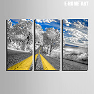 e-Home® venytetty kankaalle taidetta valtateiden ja puut koristelu maalaus sarja 3