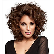 Europe And The United States Fashion Style, Middle-Aged Lady Small Volume Short Hair Brown