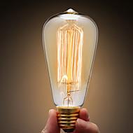 ecolight® E27 40W הנורה אדיסון נורת ליבון תעשיית רטרו 3700k לופט warmwhite (ac220 ~ 265v