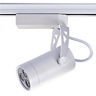 Mini Led Track Light, Modern White Aluminum Painting Warm White Ac100-240V