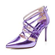 Chaussures Femme - Habillé - Noir / Vert / Violet / Argent / Or / Champagne - Talon Aiguille - Talons / Bout Pointu / Bout Fermé - Talons