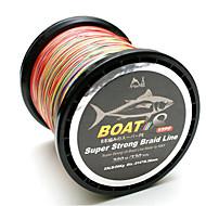 300/330 יארד PE  / Dyneema חוט קלוע חוט דיג פורל הקשת 60LB 0.36 mm ל דיג בים / דייג במים מתוקים / דיג כללי