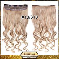 Klip na na prodlužování vlasů zvlněný klip vlásenky 18/613 #