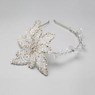 Celada Bandas de cabeza Boda/Ocasión especial Rhinestone/Aleación Mujer/Niña de flor Boda/Ocasión especial 1 Pieza