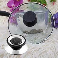 ユニバーサル調理器具鍋鍋のふたの交換用ネジは、ノブを保持する円形器具のカバーを扱います
