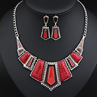 MISSING U Women Vintage / Party Alloy / Resin Necklace / Earrings Jewelry Sets