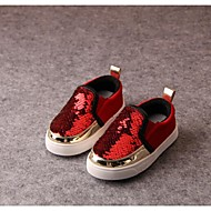 Baby Shoes Casual Glitter Fashion Sneakers Black/Red/Silver