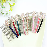 South Korean Hairpin Authentic Hairpin Restoring Ancient Ways Around The Cloth Inserted Comb, Heart-Shaped Diamond Style
