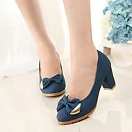 Women's Shoes Faux Suede Stiletto Heel Heels/Novelty/Closed Toe Pumps/Heels Party & Evening/Dress/Casual