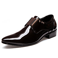 Men's Shoes PU Leather Fashion Oxford Shoes Black/Brown