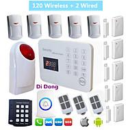 Sistema de alarma - Teclado Inalámbrico/SMS/Móvil - GSM