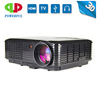 powerful® 3d slimme projector full hd bedrijf draagbare projector 1080p projector geleid, short throw projector