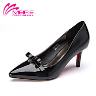 Women's Shoes Patent Leather Stiletto Heel Heels/Pointed Toe/Closed Toe Pumps/Heels